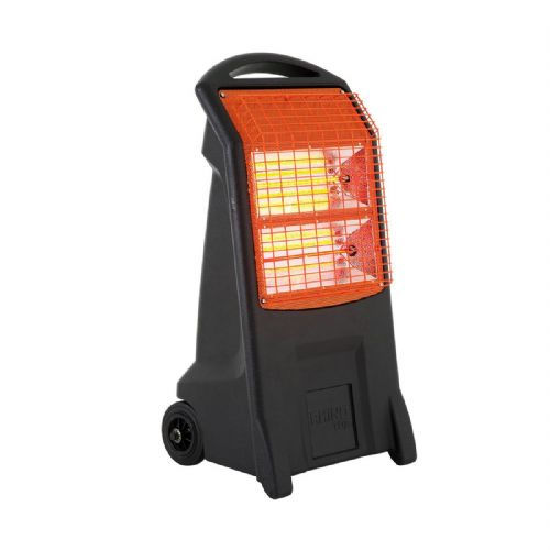 Rhino H029300 TQ3 Portable Wheels Quartz Electric Heater 2.8kW 110V~50Hz